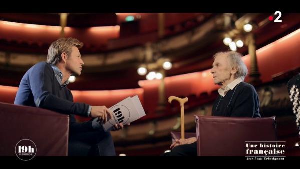 """VIDEO. """"19h le dimanche"""". Jean-Louis Trintignant, une histoire française"""