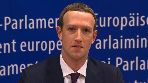 """""""C'était une erreur, et je suis désolé"""" : le patron de Facebook présente ses excuses au Parlement européen"""