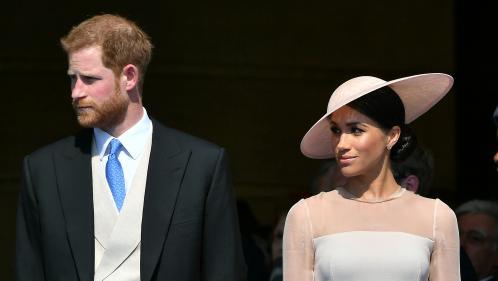 Première sortie officielle de Meghan et Harry depuis leur mariage