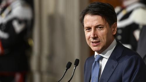 Italie : Giuseppe Conte officiellement désigné chef du gouvernement