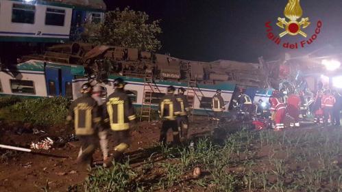 Italie : au moins deux morts après un déraillement de train près de Turin