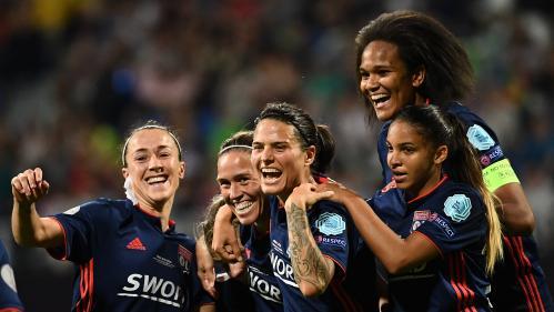 Foot : l'Olympique lyonnais remporte la Ligue des champions féminine pour la cinquième fois, un record