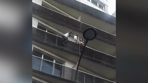 Paris : l'homme qui a sauvé un enfant suspendu à un balcon est un sans-papiers malien