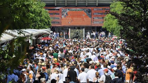 Roland-Garros : de nombreux jeunes passionnés par le tennis