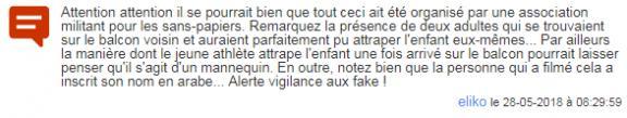 Commentaire d\'un internaute envoyé dans le live de franceinfo.fr.
