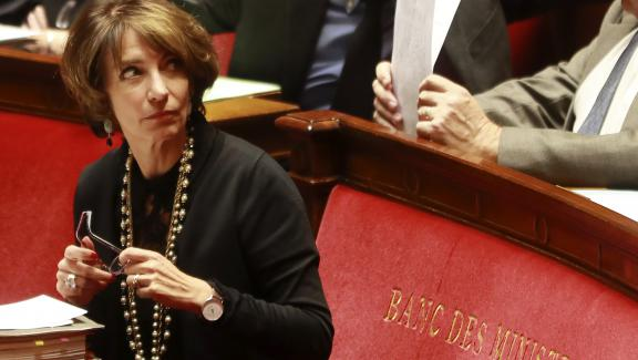 Marisol Touraine, ex ministre de la Santé, à l\'Assemblée nationale, le 8 novembre 2016.
