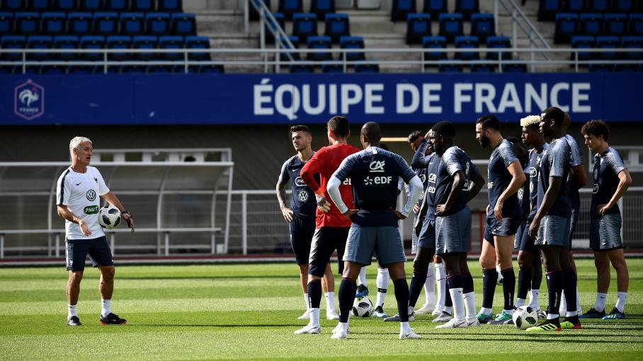 Match de pr paration pour le mondial de foot la france bat l 39 italie 3 1 - Jeux de foot match coupe du monde ...