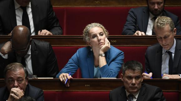 La députée des Deux-Sèvres Delphine Batho à l\'Assemblée nationale, le 14 novembre 2017 à Paris.