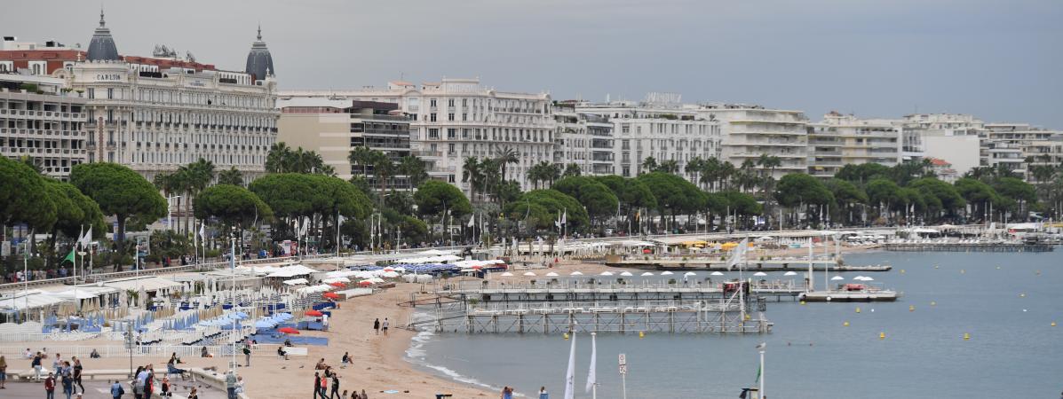 La Croisette, à Cannes (Alpes-Maritimes), le 15 septembre 2017.