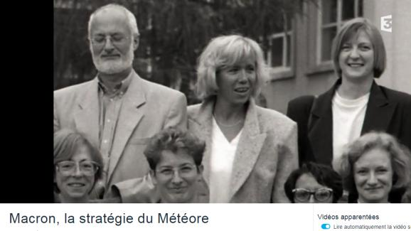 Le Vrai Du Faux Non Cette Photo Ne Montre Pas Emmanuel Macron Avec Brigitte Macron Et Son Premier Mari