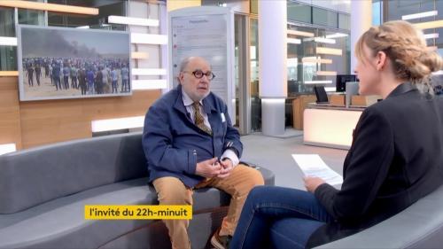 """VIDEO. Serge Moati : """"Je ne crois plus à la paix entre Israéliens et Palestiniens"""""""