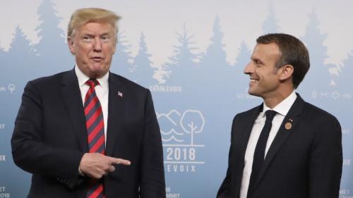 """G7: Trump est """"toujours courtois dans ce type de sommet"""", mais il peut être """"virulent"""" une fois rentré à Washington"""