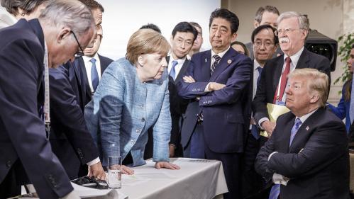 Menace de nouvelles taxes douanières, volte-face de Trump, pas de retour de la Russie : ce qu'il faut retenir du G7