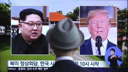 De quoi vont parler Kim Jong-un et Donald Trump ? On vous résume les enjeux de leur rencontre historique