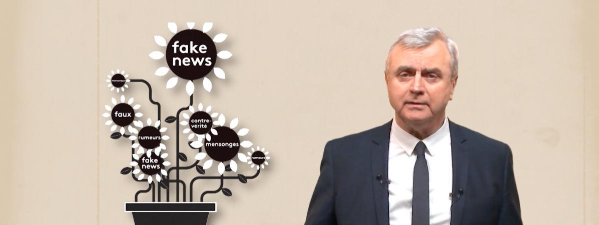 Video. Retour vers le futur de l'info : qu'est-ce que la fausse nouvelle ?