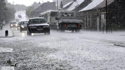 Orages : des habitants surpris par des pluies torrentielles
