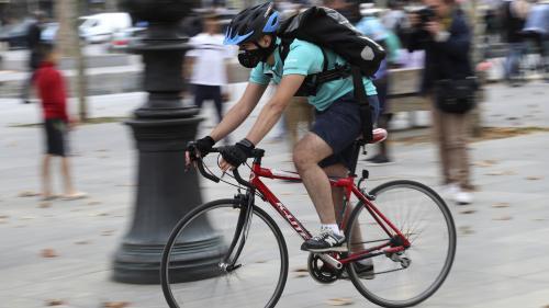 nouvel ordre mondial   Les livreurs à vélo seront-ils salariés bientôt?
