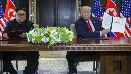 Qu'y a-t-il dans le texte commun signé par Donald Trump et Kim Jong-un ?