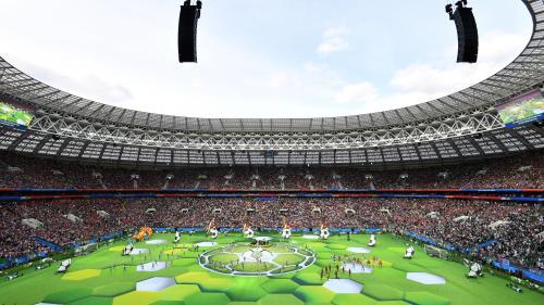 DIRECT. Coupe du monde 2018 : suivez la cérémonie d'ouverture en attendant le match entre la Russie et l'Arabie saoudite