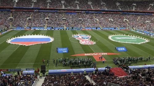 DIRECT. Coupe du monde 2018 : suivez en direct le match d'ouverture entre la Russie et l'Arabie saoudite