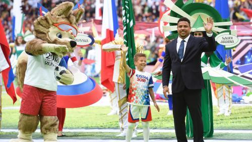 La victoire de la Russie, Robbie Williams, Achille le chat... Ce qu'il faut retenir de la première journée de la Coupe du monde 2018