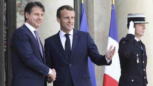 Emmanuel Macron : rencontre cruciale avec le président du Conseil italien