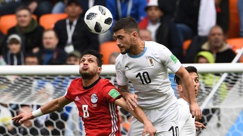DIRECT. Coupe du monde 2018 : l'Uruguay n'arrive pas à allumer le feu dans la défense égyptienne