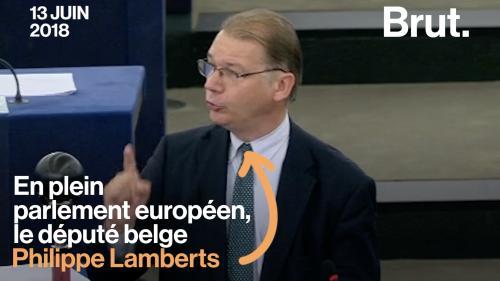 VIDEO. Le coup de gueule du député belge Lamberts contre la politique des dirigeants européens vis-à-vis des migrants