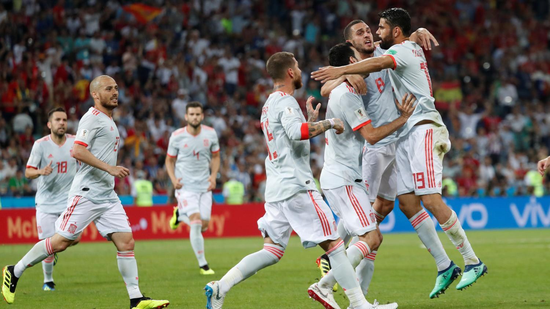 Coupe du monde 2018 un tripl de ronaldo magistral permet au portugal d 39 arracher le nul - Jeux de foot match coupe du monde ...