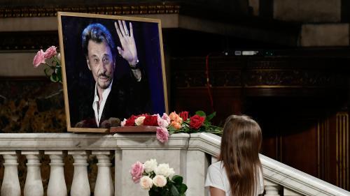DIRECT. Cérémonie d'hommage à Johnny Hallyday: des milliers de fans attendus, quelques tensions à l'entrée de l'église