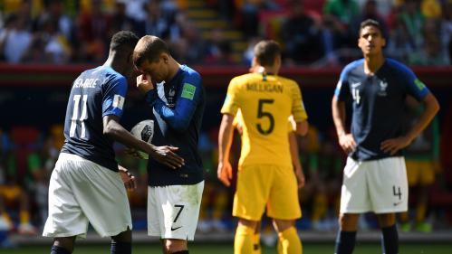 DIRECT. France-Australie : les Bleus pris au piège australien, Griezmann et Dembélé remplacés (1-1)
