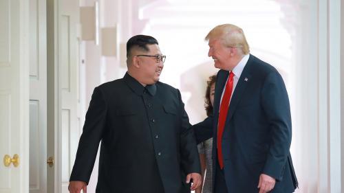 """Etats-Unis : Donald Trump se vante d'avoir """"largement résolu"""" le problème nord-coréen"""