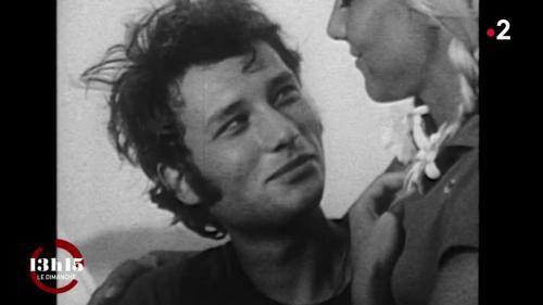 """VIDEO. """"On était un vrai couple... un peu volcanique"""" : Sylvie Vartan à propos de sa vie avec Johnny Hallyday"""