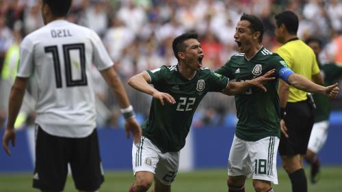 DIRECT. Coupe du monde : l'Allemagne malmenée par le Mexique à la mi-temps (0-1)