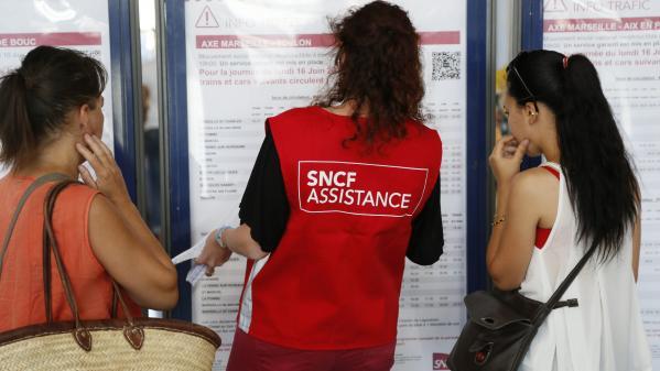 """Grève SNCF pendant le bac : la SNCF a mis en place un dispositif qui comprend """"des bus de substitution"""" et """"des numéros d'appel"""""""
