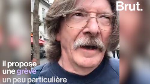 """VIDEO. Pour protester contre la hausse de la CSG, un retraité propose une """"grève de la consommation"""""""