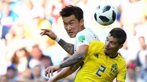 Coupe du monde 2018 : la Suède met la Corée à bas