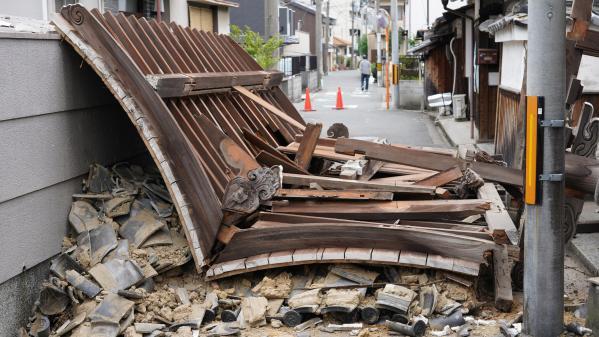 EN IMAGES. Japon : un séisme fait trois morts et provoque d'importants dégâts