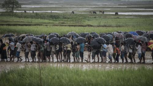 Le nombre de personnes déplacées dans le monde atteint un record en 2017