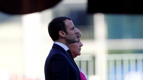 En un mot. La chancelière et le président tentent de sauver leur couple
