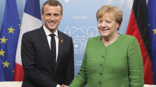 VIDÉO. Migrants : réunion de crise pour Emmanuel Macron et Angela Merkel