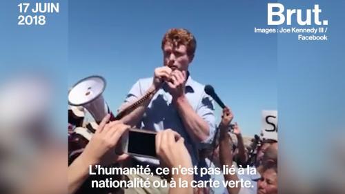 VIDEO. Migrants : Joe Kennedy III s'en prend à la politique de Trump en racontant sa propre histoire