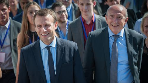 Campagne d'Emmanuel Macron : des élus Les Républicains déposent plainte pour des soupçons d'avantages accordés par Gérard Collomb à Lyon