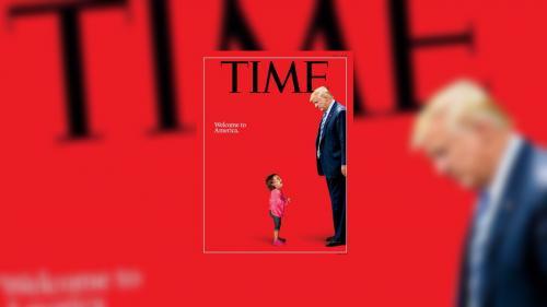 """La fillette en larmes en une du """"Time"""" n'a pas été séparée de sa famille, assure le Honduras"""