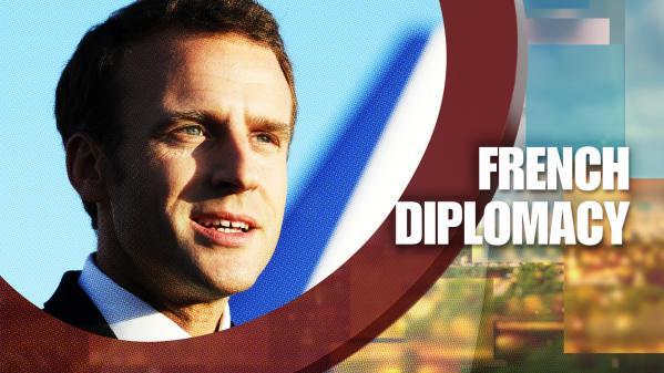 """REPLAY. Regardez l'enquête de """"13h15 le dimanche"""" sur la """"French diplomacy"""" d'Emmanuel Macron"""