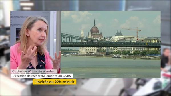 "VIDEO. Catherine Wihtol de Wenden : ""L'Europe est coupée en deux"""