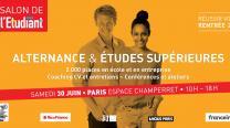 Événement : le Salon de l'alternance et des études supérieures, à l'Espace Champerret, samedi 30 juin