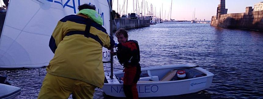 Le jeune Français de 12 ansa mis 14 heures et 21 minutes pourtraverser la Manche.