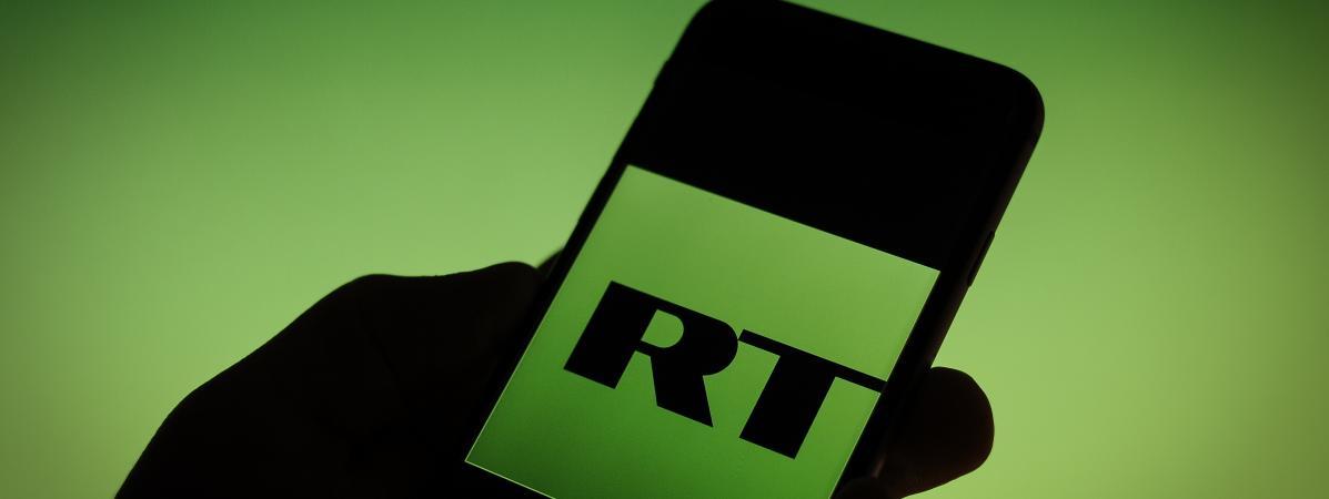 La chaîne de télévision RT France mise en demeure par le CSA pour un ...