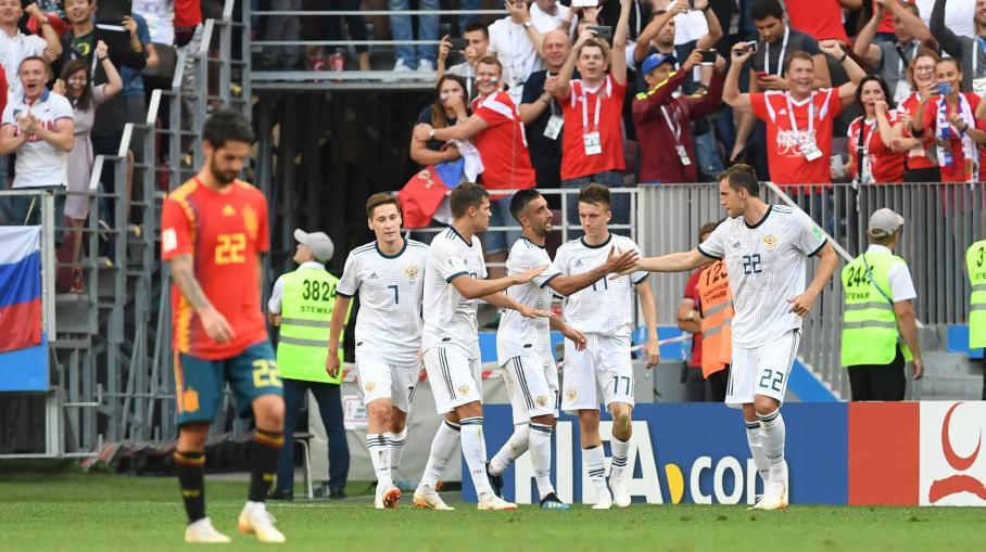 Direct coupe du monde 2018 la russie tient t te l 39 espagne dans les prolongations 1 1 - Coupe de france direct tv ...